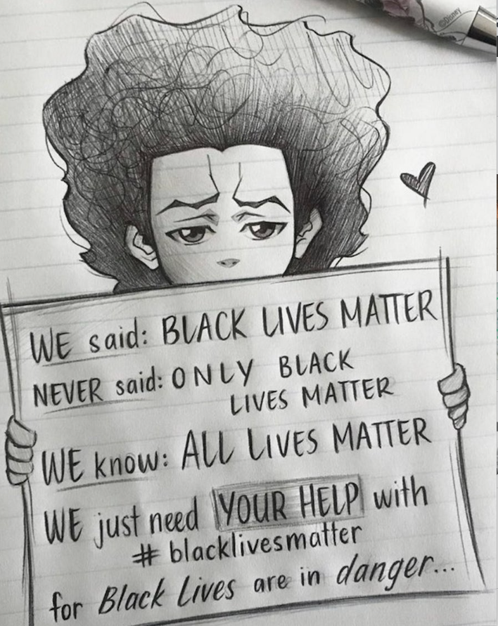 black mother-to-be - BLM